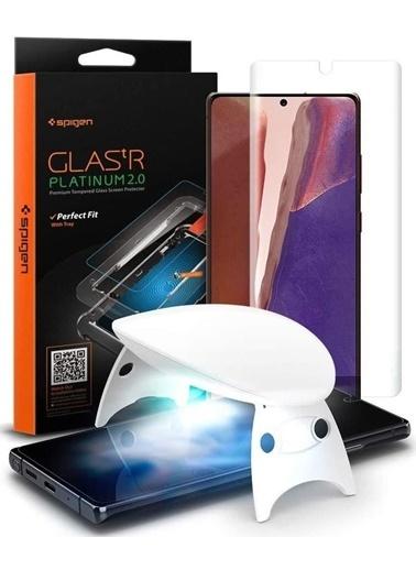 Spigen Galaxy Note 20 Ekran Koruyucu, tR Platinum Glass (1 Pack) Renkli